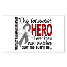 Bravest Hero I Knew Parkinsons Decal