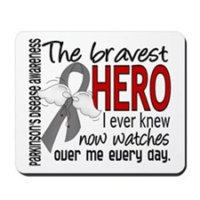 Bravest Hero I Knew Parkinsons Mousepad