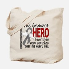 Bravest Hero I Knew Parkinsons Tote Bag