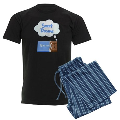 Sweet Dreams dreaming chocolate bar Men's Dark Paj