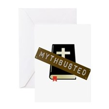 Mythbusted Greeting Card