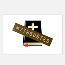 Mythbusted Postcards (Package of 8)