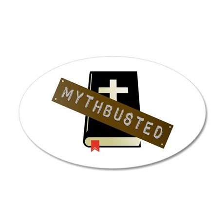 Mythbusted 35x21 Oval Wall Decal