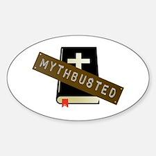 Mythbusted Sticker (Oval)