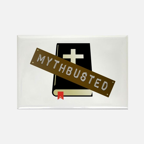 Mythbusted Rectangle Magnet