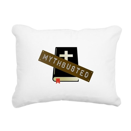 Mythbusted Rectangular Canvas Pillow