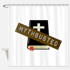 Mythbusted Shower Curtain