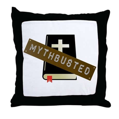 Mythbusted Throw Pillow
