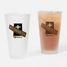 Mythbusted Drinking Glass