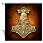Mjolnir - Thors Hammer Shower Curtain