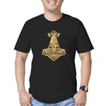 Mjolnir - Thors Hammer Men's Fitted T-Shirt (dark)