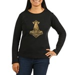 Mjolnir - Thors Hammer Women's Long Sleeve Dark T-