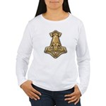 Mjolnir - Thors Hammer Women's Long Sleeve T-Shirt