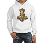 Mjolnir - Thors Hammer Hooded Sweatshirt