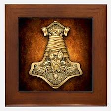 Mjolnir - Thors Hammer Framed Tile