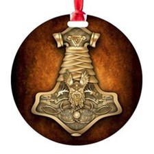 Mjolnir - Thors Hammer Ornament