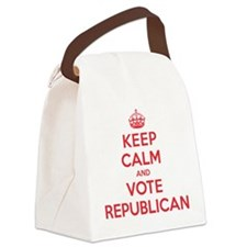 K C Vote Republican Canvas Lunch Bag