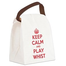 K C Play Whist Canvas Lunch Bag