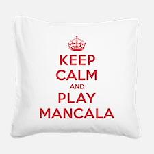 K C Play Mancala Square Canvas Pillow