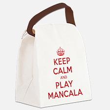 K C Play Mancala Canvas Lunch Bag
