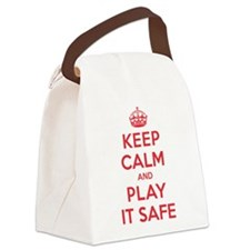 K C Play It Safe Canvas Lunch Bag