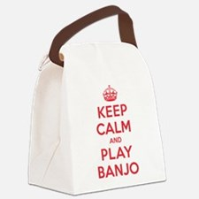 K C Play Banjo Canvas Lunch Bag
