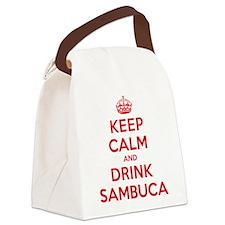 K C Drink Sambuca Canvas Lunch Bag