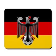 German Soccer Flag Mousepad