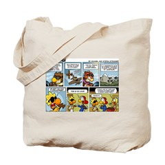 2L0075 - Sweet Dogfight Tote Bag