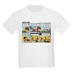 2L0075 - Sweet Dogfight Kids Light T-Shirt