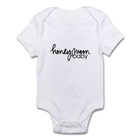 Honeymoon Baby (black) Infant Creeper