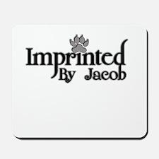 Twlight imprinted jacob Mousepad