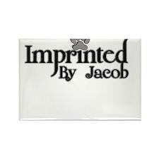 Twlight imprinted jacob Rectangle Magnet
