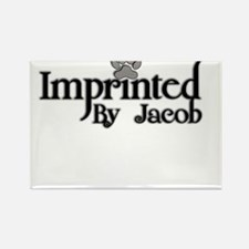 Twlight imprinted jacob Rectangle Magnet