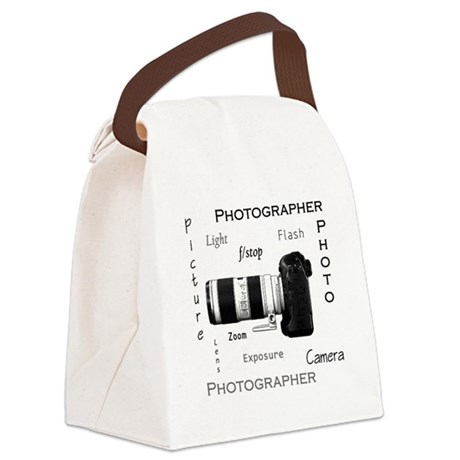 Photographer-Definitions-DSLR.png Canvas Lunch Bag