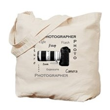 Photographer-Definitions-DSLR.png Tote Bag