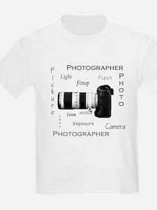 Photographer-Definitions-DSLR.png T-Shirt