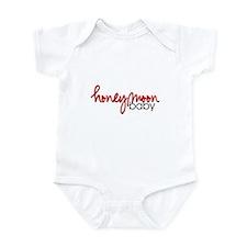 Honeymoon Baby (Red) Infant Creeper