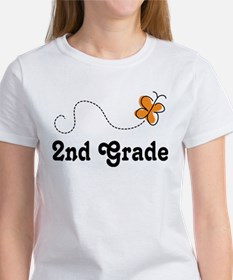 2nd Grade butterfly Women's T-Shirt
