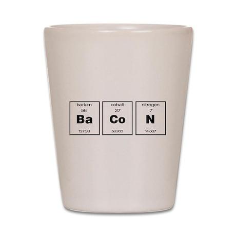 Periodic BaCoN Shot Glass
