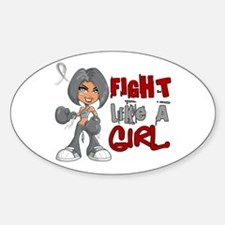 Fight Like a Girl 42.8 Parkinson's Decal