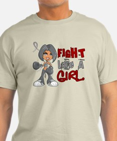 Fight Like a Girl 42.8 Parkinson's T-Shirt