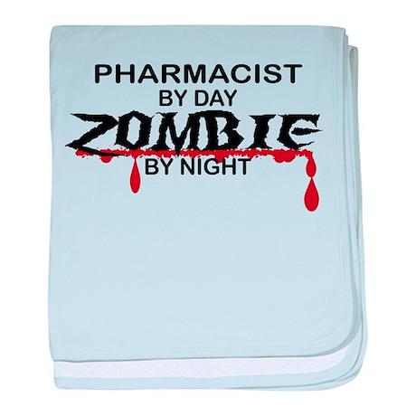Pharmacist Zombie baby blanket