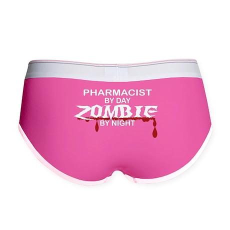 Pharmacist Zombie Women's Boy Brief