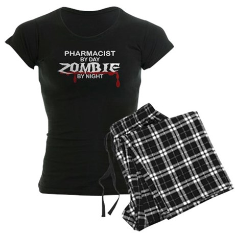 Pharmacist Zombie Women's Dark Pajamas