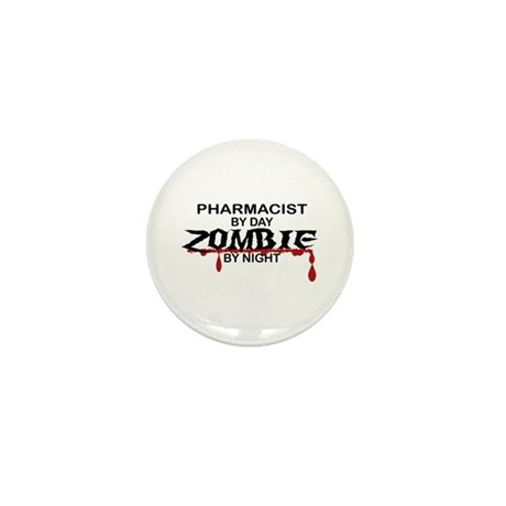 Pharmacist Zombie Mini Button (100 pack)