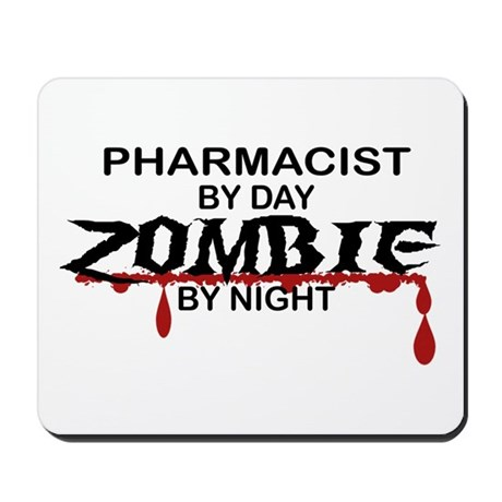 Pharmacist Zombie Mousepad