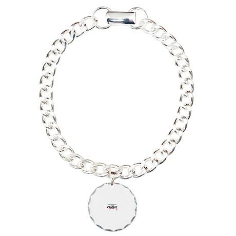 Pharmacist Zombie Charm Bracelet, One Charm