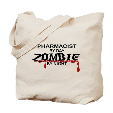 Pharmacist Zombie Tote Bag