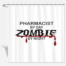 Pharmacist Zombie Shower Curtain